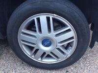 "4 Ford Focus 16"" wheels"