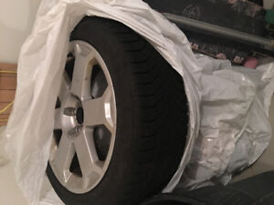 Snow tires and rims 225/45/17