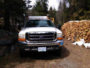 2000 Ford 550 XLT service truck