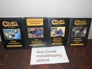 METAL SHAPING DVDS  RON COVELL