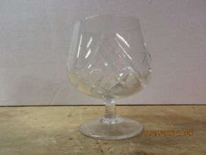 Crystal brandy carafe and 4 matching snifters London Ontario image 5