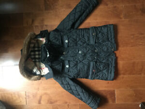 Burberry Youth Quilted Coat Unisex 5YRS Old