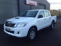 2012 (62) Toyota Hilux 2.5 D4-D HL2 Double Cab 4x4 Diesel Pickup *107k*