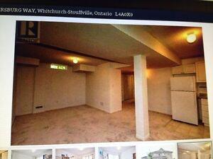 Walkout basement for rent