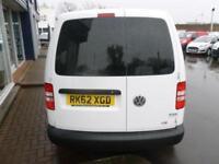 2012 Volkswagen CADDY C20 TDI 102 KOMBI VAN *5 SEATER* Manual Crew Van