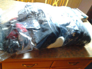 SACK OF GIRLS CLOTHES