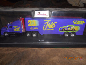 1/64 scale nascar winston cup series truck and trailer