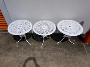 Cast Aluminium Garden Tables Chermside Brisbane North East Preview