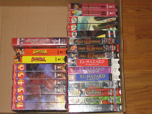 Anime VHS Collection Series