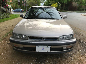 1991 Honda Accord Sedan EX-R ALB Low 46000 Kms EXR