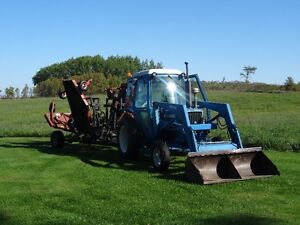 Tractor and 20 foot Allied Grass Cutter Kawartha Lakes Peterborough Area image 2
