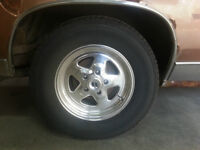 Buy new rims and tires car for free