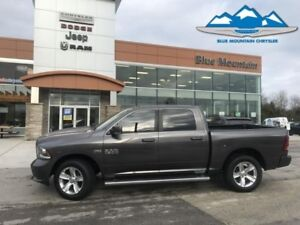 2014 Ram 1500 Sport  ACCIDENT FREE, LOCAL TRADE, LEATHER HEATED.