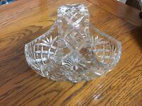 Crystal cut glass