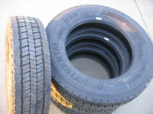NEW Continental HSR Tires 225/70R19.5 Load Range G tires 14ply!
