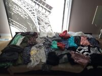 Huge lot of women's size XS-small clothing