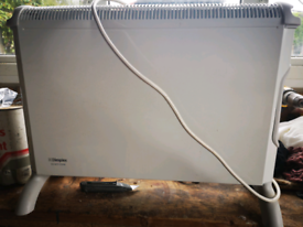 Dimple electric heater