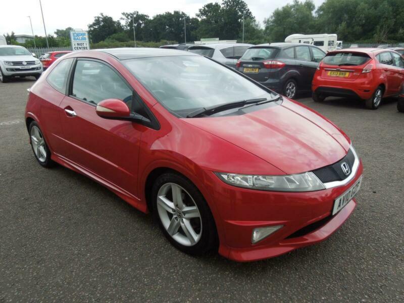 2010 Honda Civic 1.8 i-VTEC Type S GT 3 Door Petrol ...