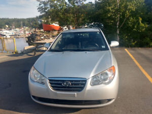 Hyundai Elentra 2008 2.LKM 165KNO Rust, has under coa