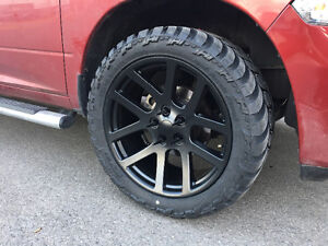 "Ram 1500 SRT 10 22"" Rims And Tires"