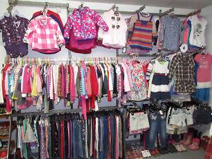 Nouvelle Boutique de vêtements pour enfants seconde main