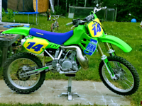 Trade my KX500 for a sled