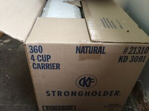 Coffee cup carrier 360 units-ATTENTION RESTAURANTEURS Kitchener / Waterloo Kitchener Area image 2