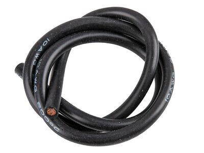 Ultimate RC 10 AWG Silikon Kabel schwarz 50cm
