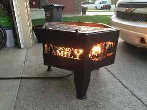 """Custom steel 36"""" and 48"""" firepits, fire pit"""