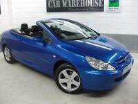 2004 Peugeot 307 COUPE CABRIOLET Manual Convertible