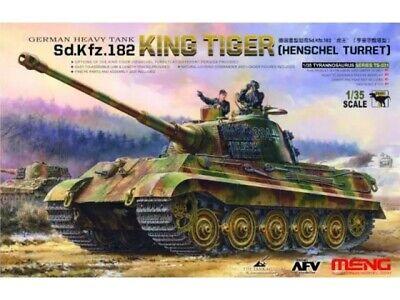 Meng Models- MNGTS-031 1:35 -King Tiger Sd.Kfz.182 (Henschel Turret)