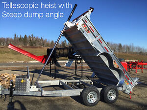 6' x 12' Dump Trailer HOT DIPPED GALAVNAIZED $130/Month