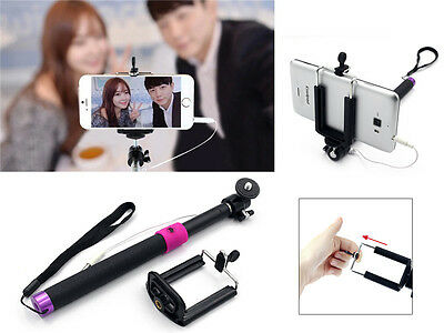 how to set your cellphone take photos with this selfie stick ebay. Black Bedroom Furniture Sets. Home Design Ideas