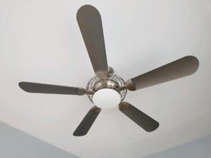 """Ceiling Fan • 52"""" 5 blade fan with dimmer - Hampton Bay"""