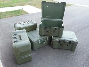 Cdn Military Barrack Boxes - Used