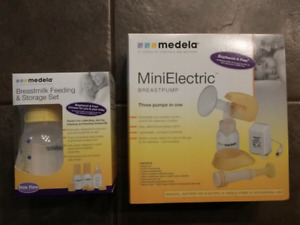 Medela MiniElectric  breastpump & storage