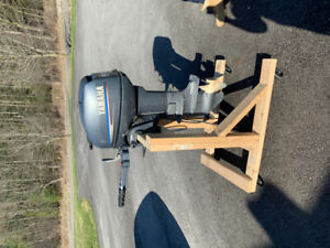 Yamaha 9.9 outboard engine for sale. Mint condition.