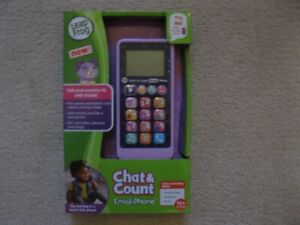 Leap Frog Chat & Count Phone (Brand New In Box)