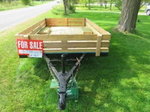 SOLD....6 1/2'X11'   UTILITY TRAILER