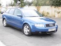 Audi A4 Avant 1.9TDI 130 5sp 2003 T SE, Blue, 6 Months AA Warranty