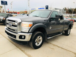 2011 FORD F-250 EXTENDED CAB LONG BOX 6.7L DIESEL 4X4 RUNS GREAT
