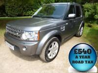 2010 Land Rover Discovery 4 3.0TDV6 242 XS Auto 7 Seat 4x4 5dr Estate Diesel