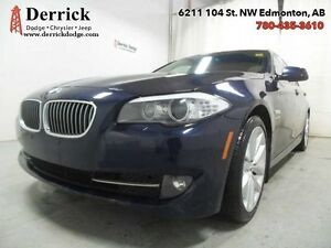 2011 BMW 5 Series Used 535i xDrive Lthr Seats Sunroof $201 B/W
