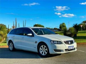 2012 Holden Commodore VE II MY12 Omega White 6 Speed Automatic Sportswagon Rockingham Rockingham Area Preview