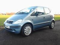 2004 MERCEDES A160 1.7TD - AUTOMATIC - DIESEL - SERVICE HISTORY - LOW MILE - VGC