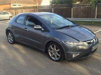 Honda civic EX I-CDTI - SPARES OR REPAIRS - STILL DRIVE ABLE - SAT NAV - 2.2 DIESEL