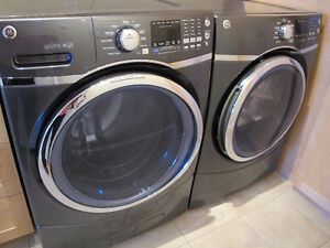 GE Front Load Washer and Dryer, Top of the line models