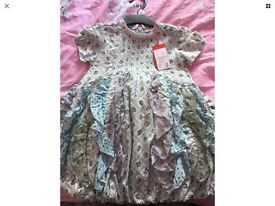 Girls oilily dress 3-4years