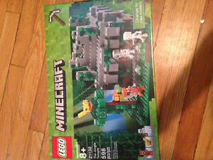 new in sealed box minecraft lego 'The Jungle Temple'