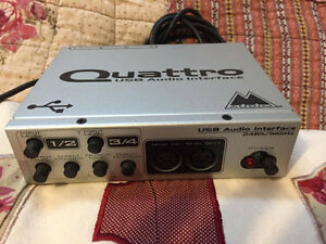 Quattro usb audio interface
